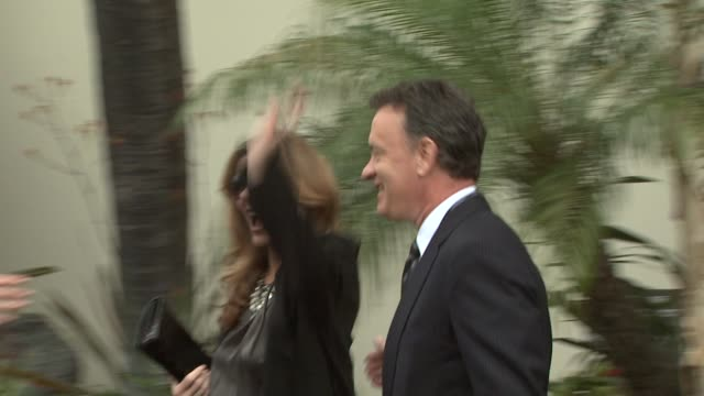 Rita Wilson and Tom Hanks at the George Harrison Receives Star Posthumously on the Hollywood Walk of Fa at Hollywood CA