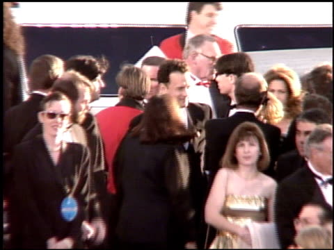 rita wilson at the 1995 academy awards arrivals at the shrine auditorium in los angeles, california on march 27, 1995. - 67th annual academy awards stock videos & royalty-free footage