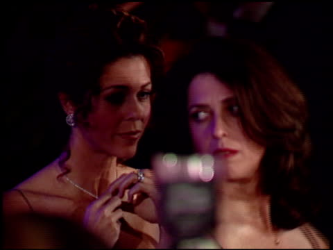 rita wilson at the 1997 academy awards vanity fair party at the shrine auditorium in los angeles, california on march 24, 1997. - 69th annual academy awards stock videos & royalty-free footage