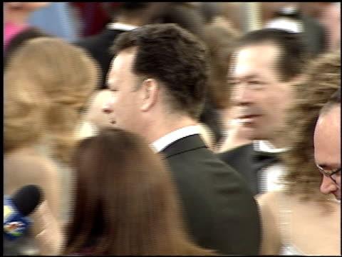 rita wilson at the 2001 academy awards at the shrine auditorium in los angeles, california on march 25, 2001. - 第73回アカデミー賞点の映像素材/bロール