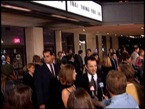 rita wilson at the 'that thing you do' premiere at cineplex odeon in century city california on october 1 1996 - odeon kinos stock-videos und b-roll-filmmaterial