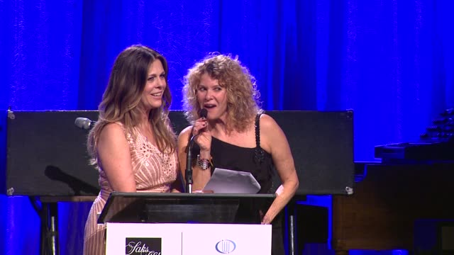 SPEECH Rita Wilson Kate Capshaw at EIF Women's Cancer Research Fund's 16th Annual An Unforgettable Evening Presented By Saks Fifth Avenue on 5/2/13...