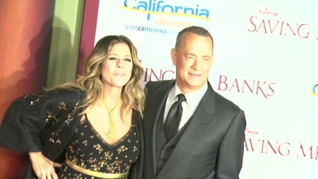 Rita Wilson Tom Hanks at 'Saving Mr Banks' Los Angeles Premiere in Burbank CA on 12/9/2013