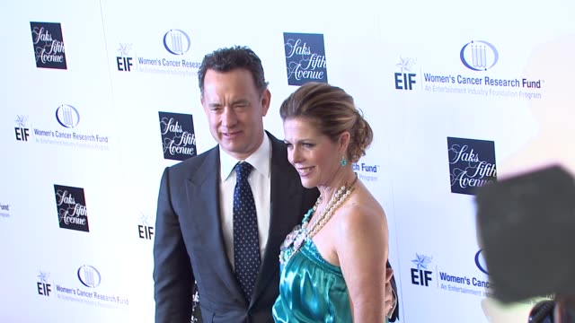 Rita Wilson Tom Hanks at the Saks Fifth Avenue's 'An Unforgettable Evening' at Los Angeles CA