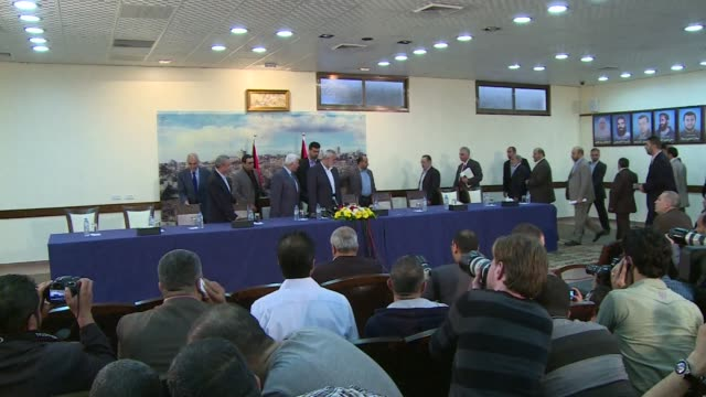 Rival Palestinian leaders from the West Bank and Gaza Strip agreed on Wednesday to form a unity government soon bringing thousands of people on to...
