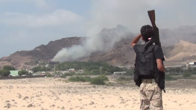 rivals al qaeda and the islamic state group are cementing their presence in south yemen in the absence of state authority and little opposition from... - al qaida stock videos & royalty-free footage