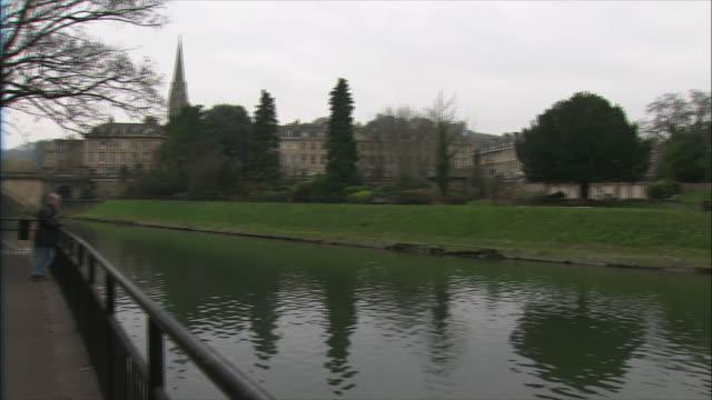 WS PAN River Avon and Bath Abbey / Bath, Somerset, United Kingdom