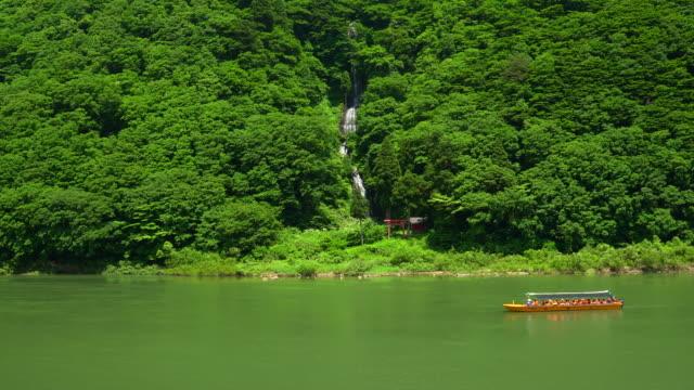 Rivier boottocht op Mogamigawa