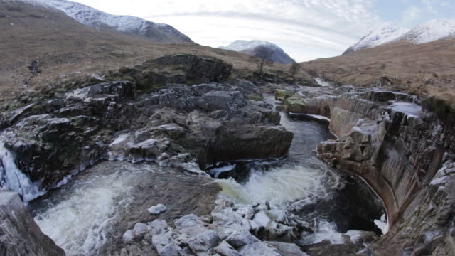 River Etive Waterfall
