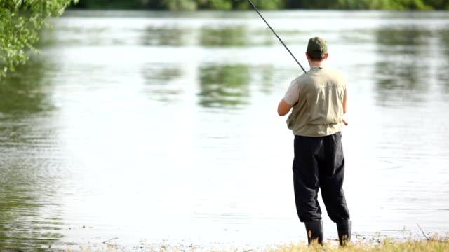 River fishing.