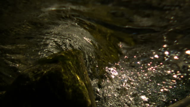 river flows over rocks and camera. - rapid stock videos & royalty-free footage