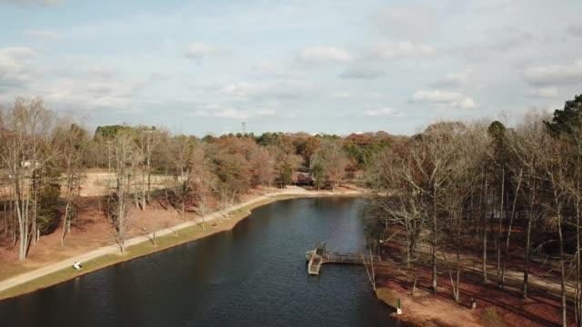 river in charlotte, north carolina - charlotte stock-videos und b-roll-filmmaterial