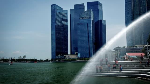 vidéos et rushes de rivière de singapour - effet visuel