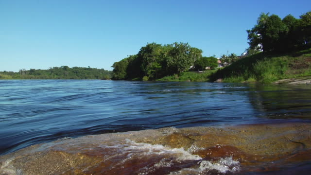 ws pan river negro rapids / sao gabriel da cachoeira, amazonas, brazil - cachoeira stock videos and b-roll footage