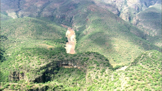 River Olifants And Mountains  - Aerial View - Limpopo,  Sekhukhune District Municipality,  Greater Tubatse,  South Africa