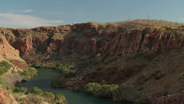 hd: river ord canyon - cliff stock videos and b-roll footage