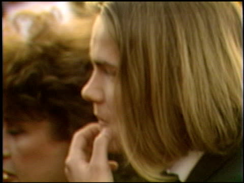 vidéos et rushes de river phoenix at the 1989 academy awards at the shrine auditorium in los angeles, california on march 29, 1989. - 61e cérémonie des oscars