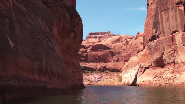 a river ripples through a canyon. - black canyon stock videos & royalty-free footage