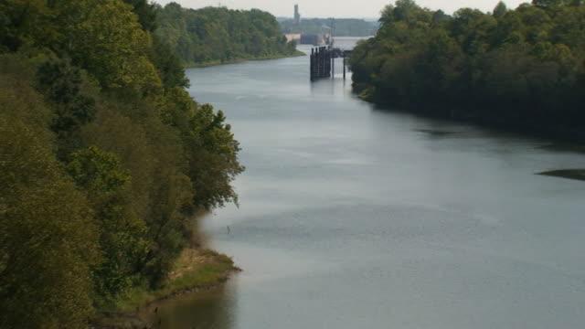 river scenic - alabama stock-videos und b-roll-filmmaterial