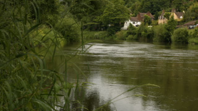 river severn - ironbridge shropshire stock videos & royalty-free footage