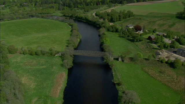 river spey near cragganmore - river stock videos & royalty-free footage