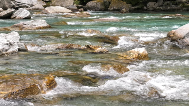 river, stream-flowing water - stream flowing water stock videos and b-roll footage