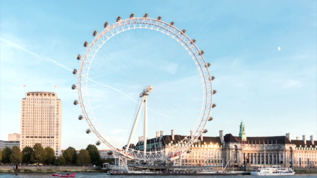 river thames london eye tl2_5 - millennium wheel stock videos & royalty-free footage