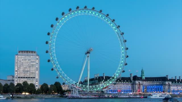 vídeos y material grabado en eventos de stock de river thames london eye tl2_8 - london eye