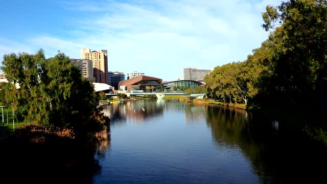 river torrens - adelaide, australia - adelaide river stock videos & royalty-free footage