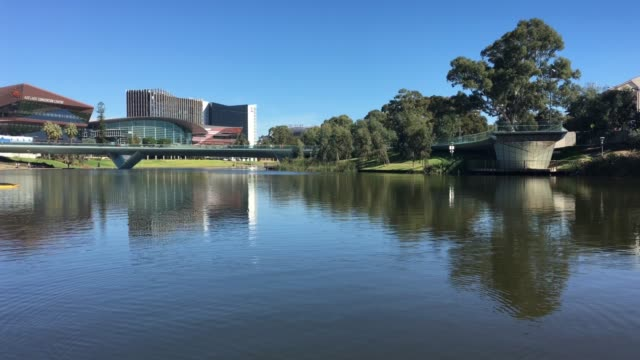 river torrens in adelaide city in south australia - adelaide river stock videos & royalty-free footage