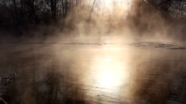 river - evaporation stock videos & royalty-free footage