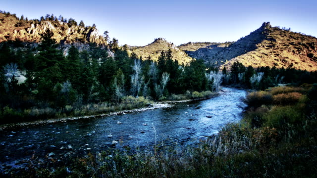 river - wyoming stock-videos und b-roll-filmmaterial