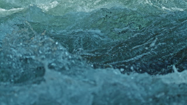 river white water slow motion close up - rock stock videos & royalty-free footage