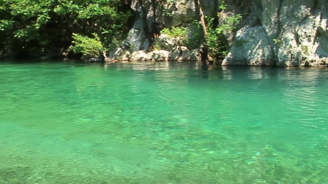 WS PAN River with turquoise water, Greece