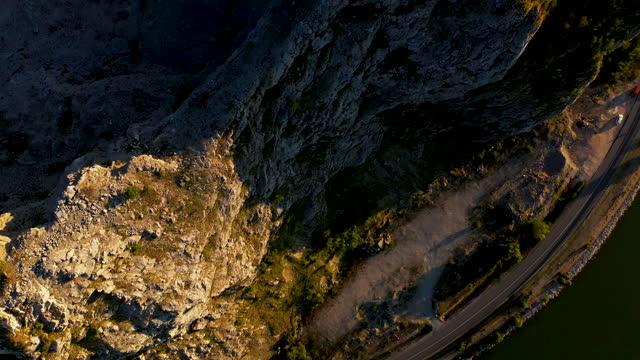 riverside and mountain ridge - ridge stock videos & royalty-free footage