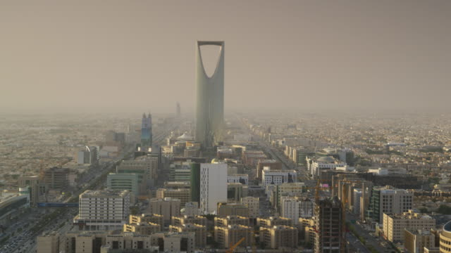 riyadh city centre, saudi arabia. - saudi arabia stock videos & royalty-free footage