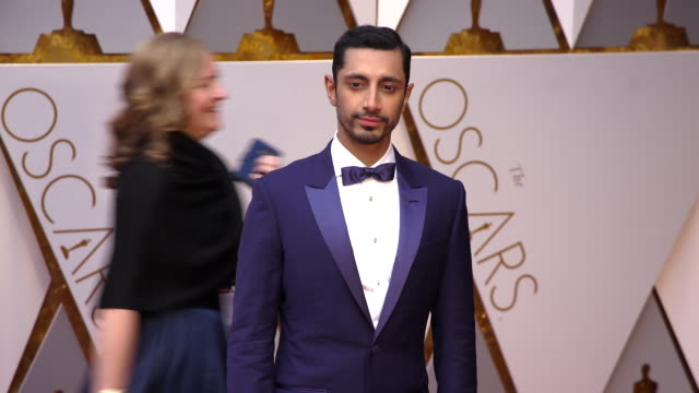 riz ahmed at 89th annual academy awards - arrivals at hollywood & highland center on february 26, 2017 in hollywood, california. 4k available -... - academy awards stock videos & royalty-free footage