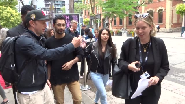 riz ahmed spotted on day 2 of the 2019 toronto international film festival at celebrity sightings in toronto on september 06, 2019 in toronto, canada. - toronto international film festival stock videos & royalty-free footage