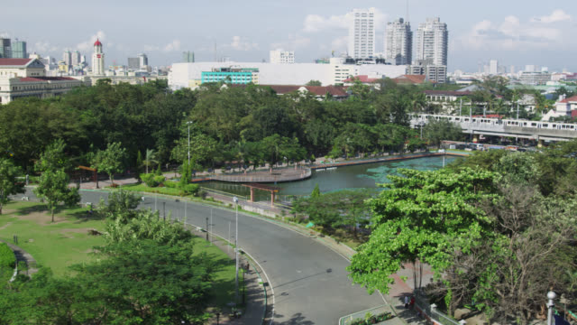 rizal park manila - philippines stock videos and b-roll footage