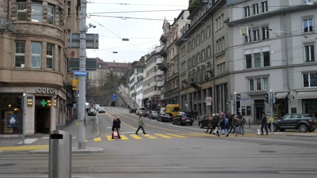 Rämistrasse near Bellevue in Zürich, Switzerland