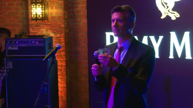 SPEECH Rémy Cointreau's Mark Breene launches event at The House of Remy Martin and Actress Jackie Cruz celebrate launch of 2016 Circle of Centaurs at...