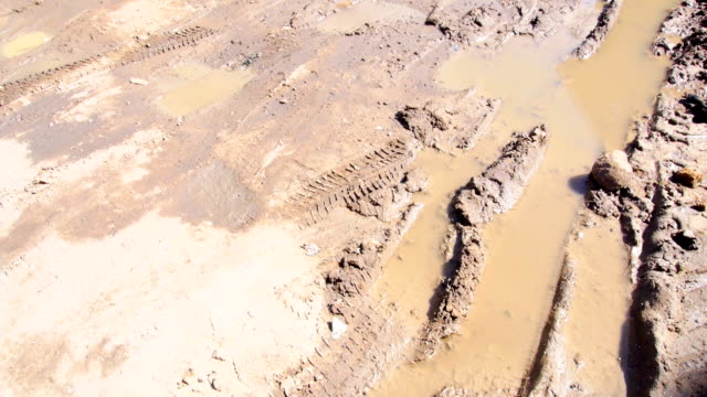 road and mud - rough stock videos and b-roll footage
