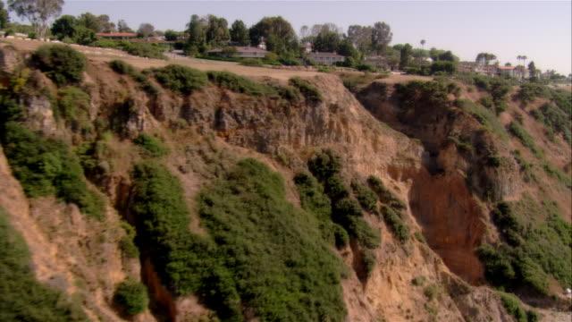 pan, ha road and palos verdes coastline, california, usa - palos verdes stock videos & royalty-free footage