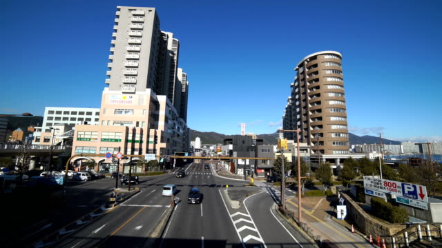 road at shiga otsu - shiga prefecture stock videos & royalty-free footage