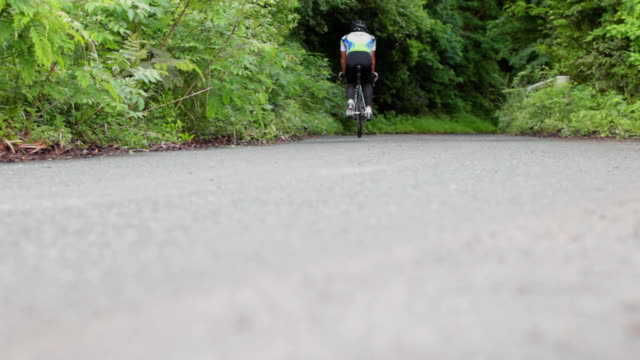 road bike ride - racing bicycle stock videos and b-roll footage