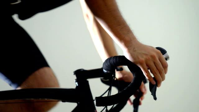 vidéos et rushes de vélo de route sport bracket- droite - selle