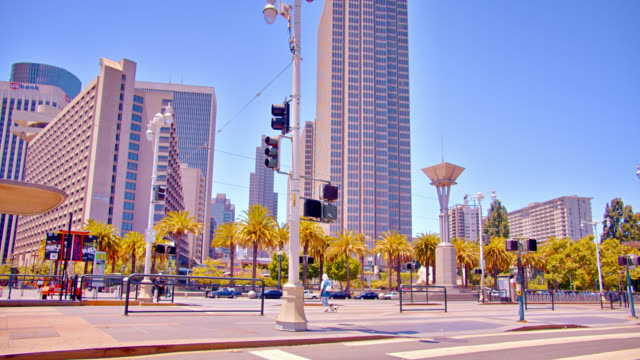 road, city street in san francisco by the bay. - san francisco bay stock videos & royalty-free footage