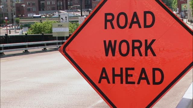 CU, road construction sign