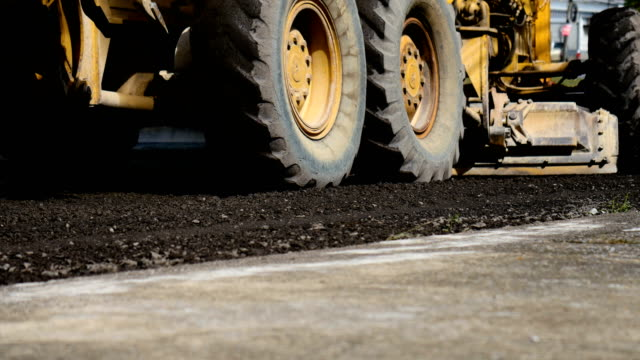 road construction - paving stone stock videos & royalty-free footage