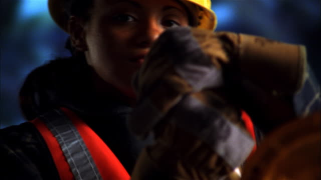 road construction worker - roadworks stock videos & royalty-free footage